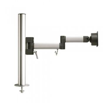 Tischhalter mit Bohrschraubbefestigung, 44.50 cm hoch, Belastung 5 kg