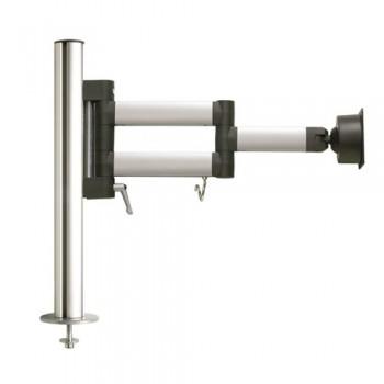 Tischhalter mit Bohrschraubbefestigung, 44.50 cm hoch, 10 kg Belastung