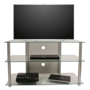 VCM LCD LED TV Rack Olopa XXL Klarglas