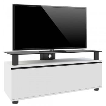 VCM LCD LED Premium TV Rack Clano Weißlack