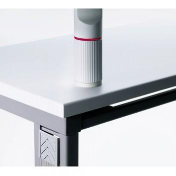 Novus Aufschraubbefestigung Stahl Silber / Anthrazit