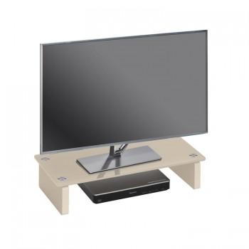 Maja 1606 TV-Glasaufsatz Breite 600mm Glas Sand