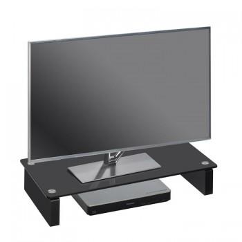 Maja 1606 TV-Glasaufsatz Breite 600mm Schwarzglas