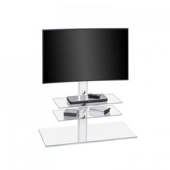 Maja 1630 TV-Rack für Monitore bis 55 Zoll Weißglas
