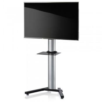 VCM Stadino Maxi TV Standfuß für Monitore von 32 - 70 Zoll mit Glaszwischenboden