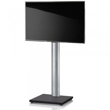 VCM Onu TV Standfuß für Monitore von 32 - 70 Zoll Schwarzlack / ohne Glaszwischenboden