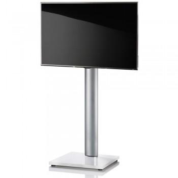 VCM Onu TV Standfuß für Monitore von 32 - 70 Zoll Weißlack / ohne Glaszwischenboden