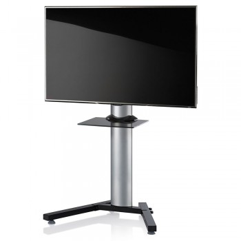 VCM Stadino Mini TV Standfuß für Monitore von 32 - 70 Zoll mit Glaszwischenboden