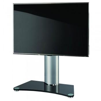 VCM Windoxa Maxi Tisch Standfuß für Monitore von 32-70 Zoll Schwarzglas