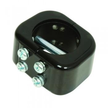 Schelle für 60mm Verlängerungsrohre B-Tech BT7060 Schwarz