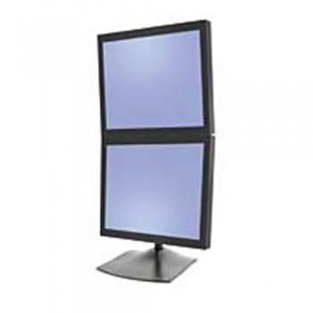 Ergotron DS100 Tischstandfuß für zwei Monitore vertikal