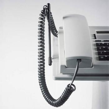Novus Spiralschnurheber für die Telefontragarme Lichtgrau