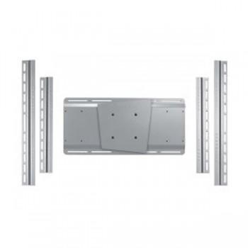 Vesa Adapterplatte für Monitore UniSlide H Silber