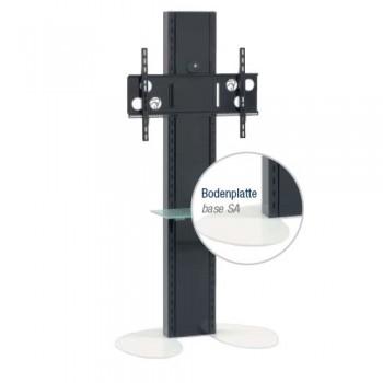 Standsäule für Plasma   LCD Bildschirme Elia SA Weiß
