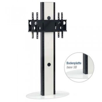 Standsäule für Plasma   LCD Bildschirme Elia SB Schwarz
