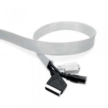 Kabelstrumpf, Länge 5 Meter Silber
