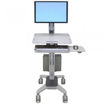 Ergotron WorkFit-C LD Rollwagen mit Tastaturhalter