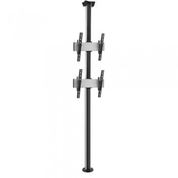 Boden-Deckensäule PUC3000-65-2 Duo Set für Monitore mit 65 Zoll