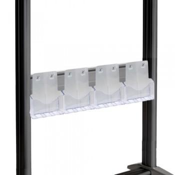 DIN A4 Prospekthalter für MR2000 TV Standfuß
