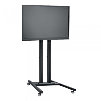 LCD LED TV Standfuß Trolley für Displays bis 65 Zoll 180 cm