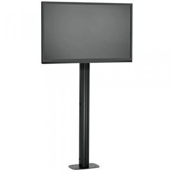 LCD LED Standfuß mit Bodenbefestigung für Displays bis 65 Zoll 150 cm