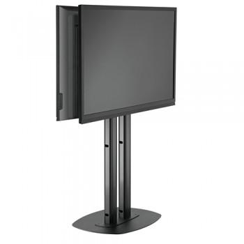 LCD LED Standfuß Rücken an Rücken Displaymontage bis 65 Zoll 150 cm