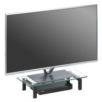 Maja 1602 TV-Glasaufsatz 600mm Breite Klarglas