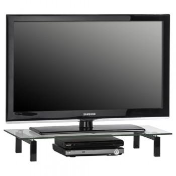 Maja 1603 TV-Glasaufsatz 820mm Breite Klarglas