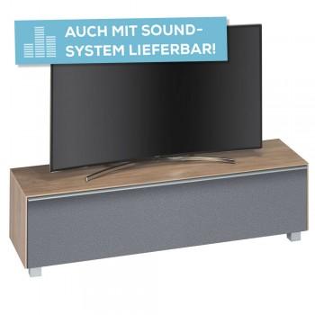 lowboard soundconcept wood breite 160 cm. Black Bedroom Furniture Sets. Home Design Ideas