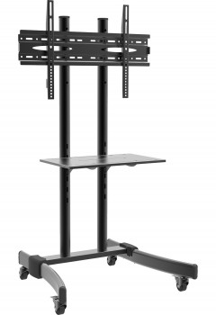 VCM Standfuss B-MS 125 hoehenverstellbar Schwarz