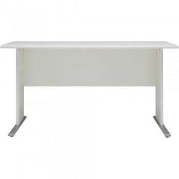 VCM Schreibtisch Omegos Weiß 140 cm