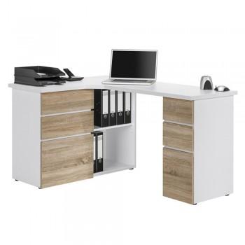 Computer- und Schreibtisch 9543 mit Einlageböden Sonoma-Eiche (Saegerau)