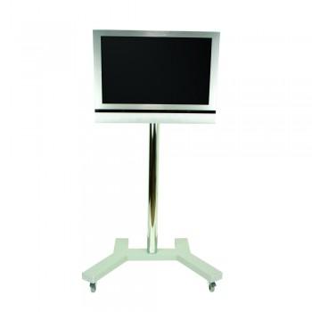 B-Tech LCD LED Monitor Trolley BT7504 für bis zu 32 Zoll Silber