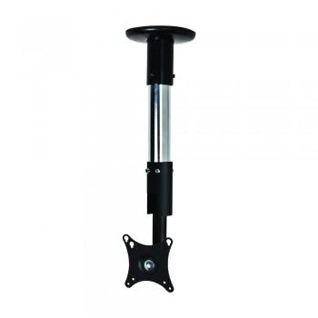 B-Tech Monitor Decken- Tischhalterung BT7553 bis 32 Zoll Chrom / 25 cm