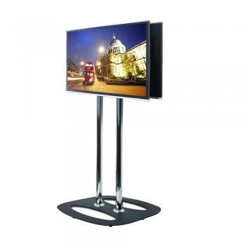 BT8552 TV Standfuß für Rücken-An-Rücken Monitore bis 55 Zoll Schwarz / 200 cm