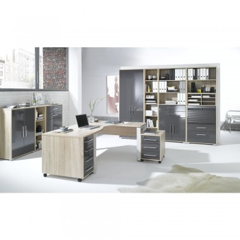 Büro SYSTEM Set 1203 mit Winkelkombination