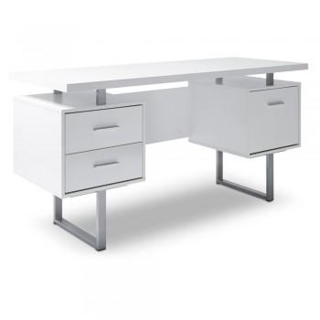 Jahnke CLB 150 Büroschreibtisch, Kerneiche Weiß