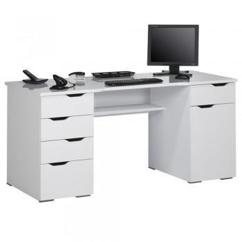 Computer- und Schreibtisch 9539 mit Integrierten Schubladen