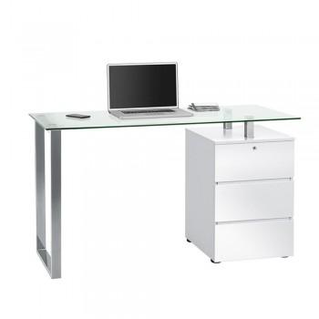 Computer- und Schreibtisch 9550 mit Metallgestell