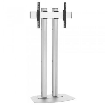 Vogels Standfuß Silber für Displays ab 65 Zoll, max. 80 kg 200 cm
