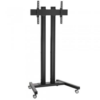 Vogels Rollwagen Schwarz für Displays ab 65 Zoll, max. 80 kg