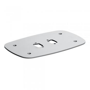 Vogels PFF 7060 Boden Montageplatte für Connect-it Rohre Silber
