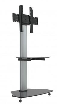 Höhenverstellbarer LCD LED Standfuß auf Rollen PL1D 37-70 Zoll