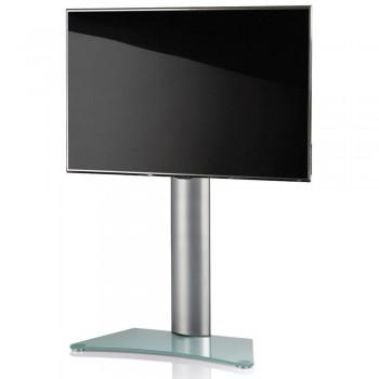 VCM Zental TV Standfuß für Monitore von 32 - 70 Zoll Mattglas / ohne Glaszwischenboden