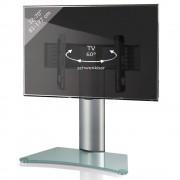 VCM Windoxa Maxi Tisch Standfuß für Monitore von 32-70 Zoll Mattglas
