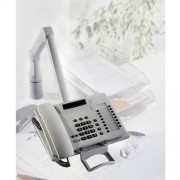 Novus TalkMaster Telefonschwenkarm Silber / Anthrazit