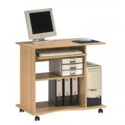 Computertisch 4024 mit Tonnenprofil