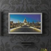 Wandhalterung für Plasma LCD Monitore BTV510 Schwarz