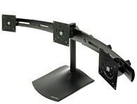 Ergotron DS100 Tischstandfuß für drei Monitore horizontal