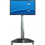 Höhenverstellbarer LCD LED Standfuß auf Rollen PL1C 26-47 Zoll